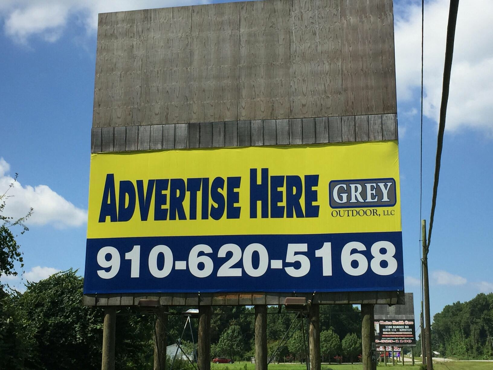 Kinston nc billboards available for rent