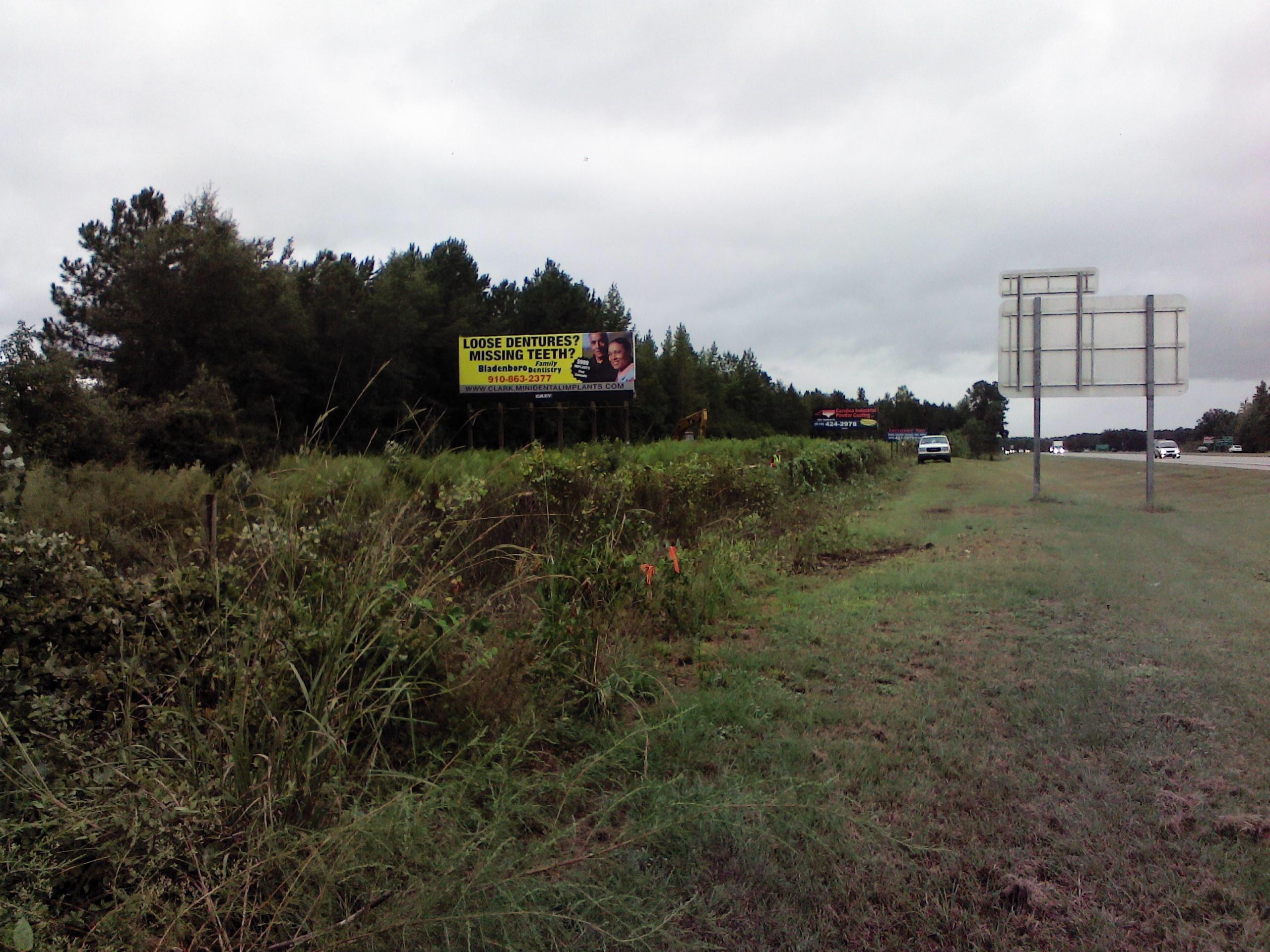 Highway 87 billboard Fayetteville nc