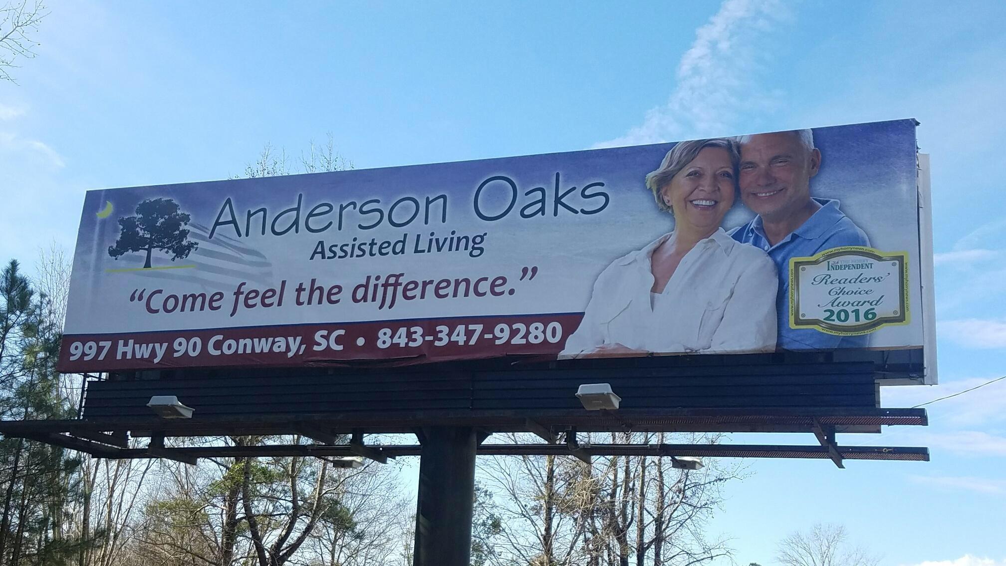 anderson oaks billboard,