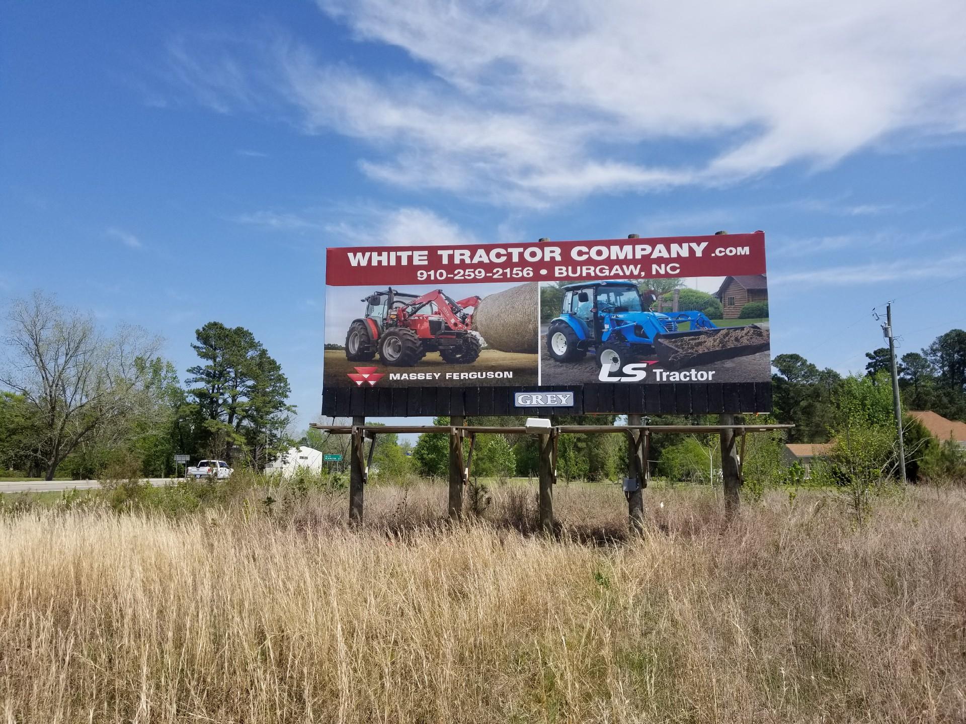 white tractor company