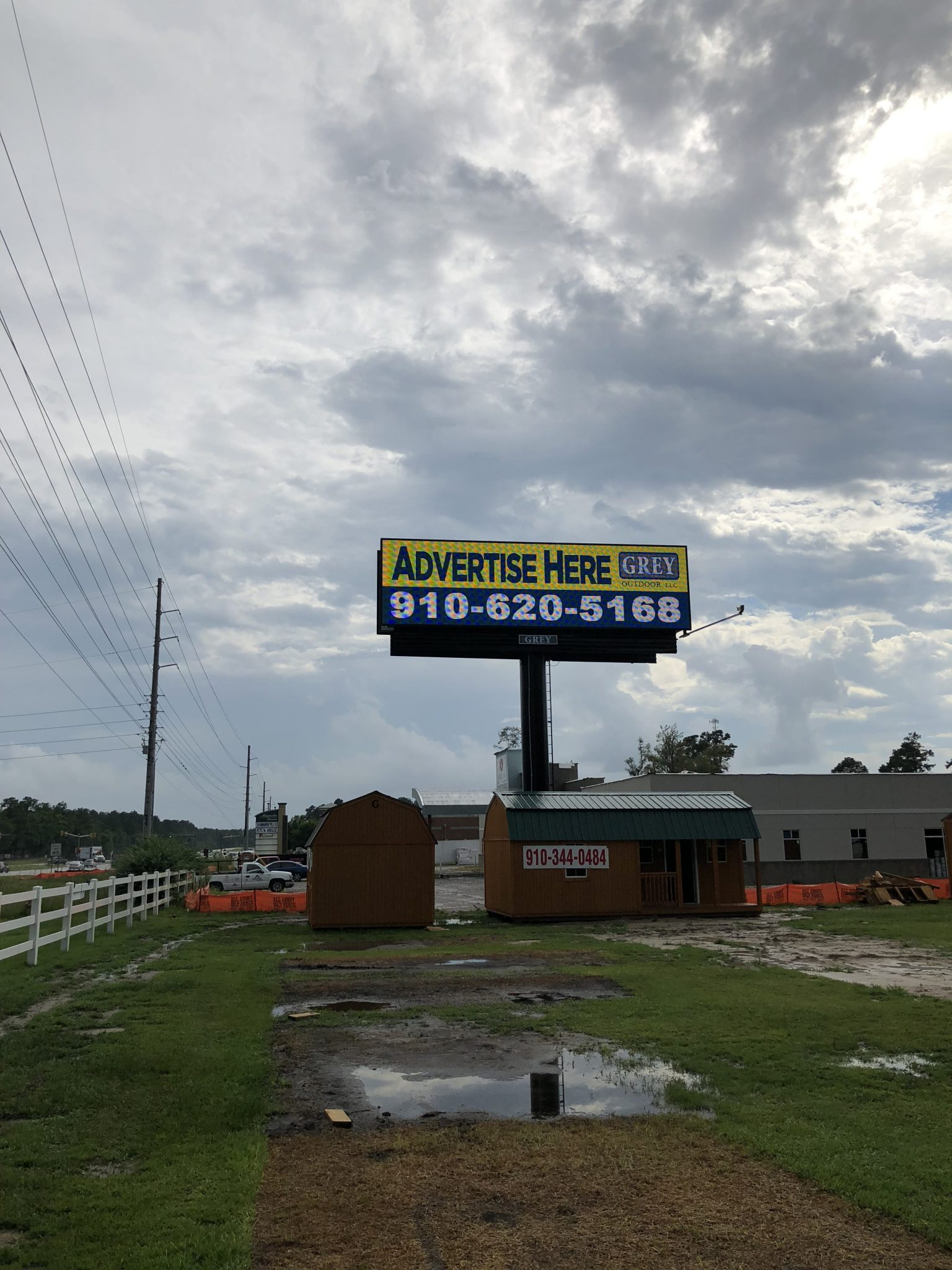 Leland NC Digital Billboard