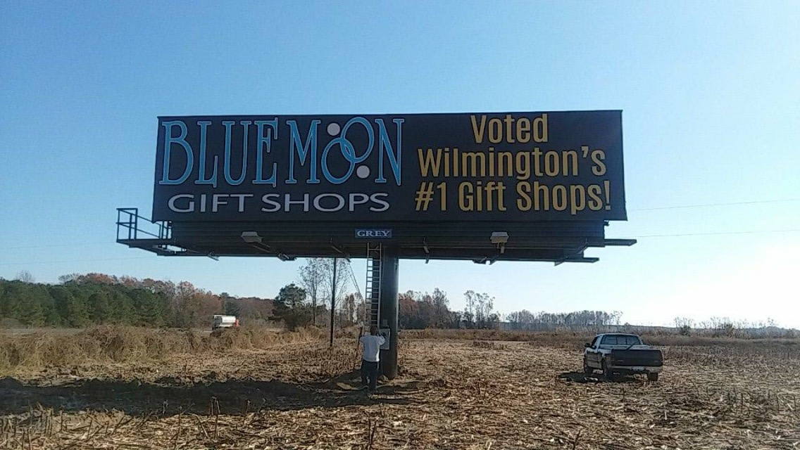 blue moon gift shops