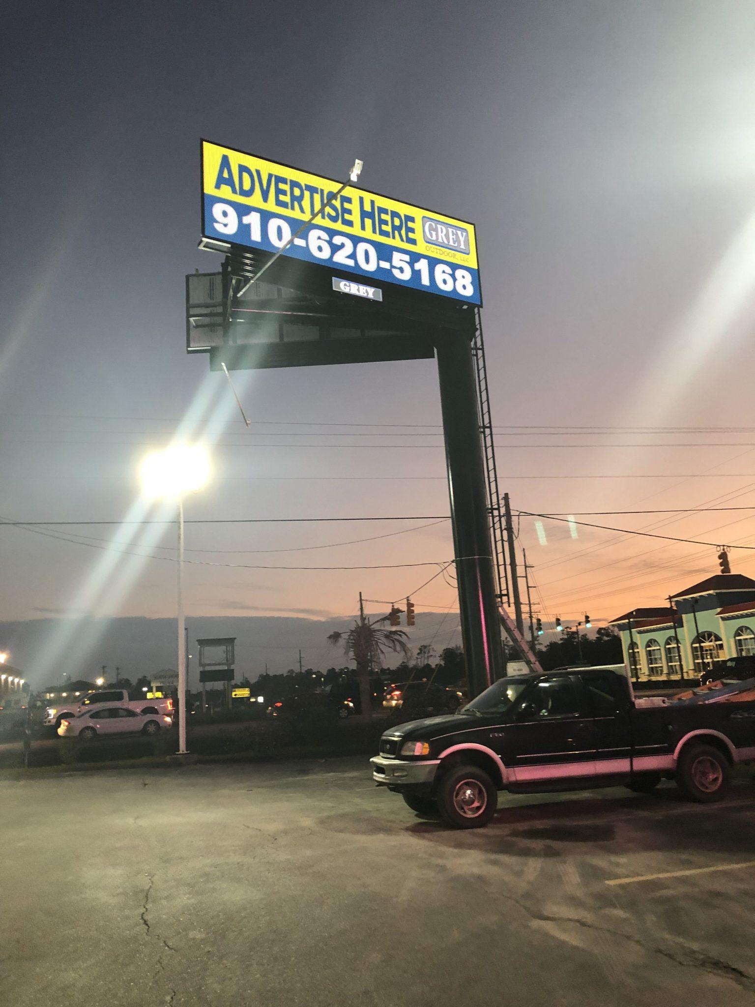 Billboard Sneads Ferry NC