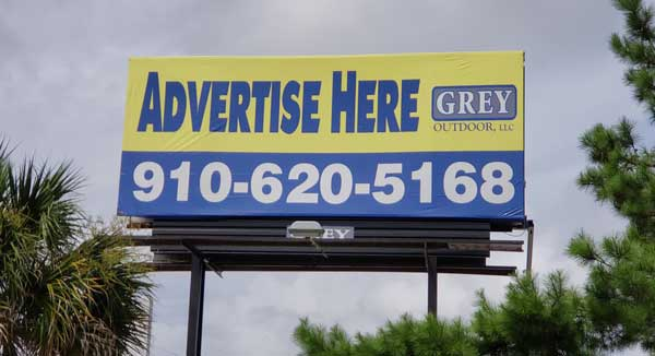 Holly Ridge NC Billboard For Rent