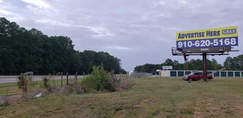 Greenville North Carolina Billboard Rentals