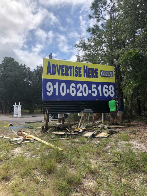 Carolina Beach Campground Billboards